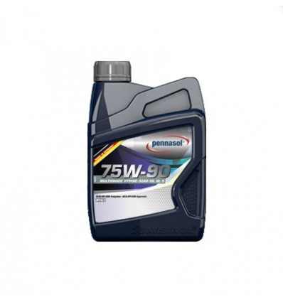 PENNASOL Multigrade Hypoid Gear Oil GL-5 SAE 75W-90 1L
