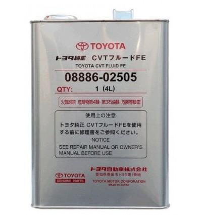 Масло трансмиссионное Toyota CVT Fluid FE 4L