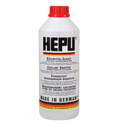 Концентрат охлаждающей жидкости (антифриз, красный) HEPU P999 G12 1,5L