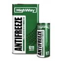 Охлаждающая жидкость HighWay Antifreeze-40 Long Life G11 1kg
