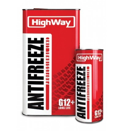 HighWay ANTIFREEZE-40 LONG LIFE G12+ красный 5kg