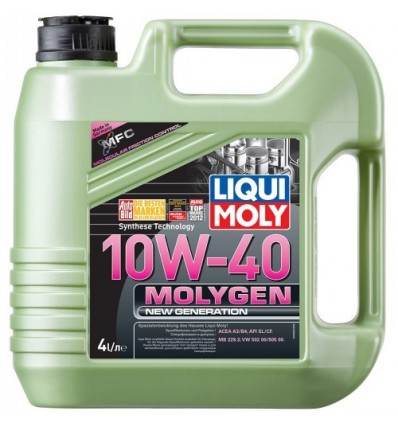 LIQUI MOLY Molygen New Generation 10W-40 4L