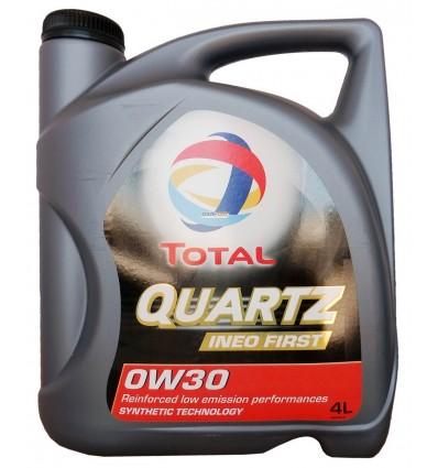 TOTAL Quartz Ineo First 0W-30 4L