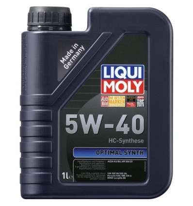 LIQUI MOLY Optimal Synth SAE 5W-40 1L
