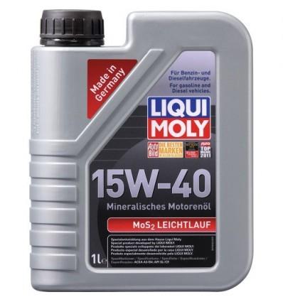 LIQUI MOLY MoS2 Leichtlauf Super Motoroil SAE 15W-40 1L