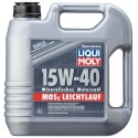 LIQUI MOLY MoS2 Leichtlauf Super Motoroil SAE 15W-40 4L