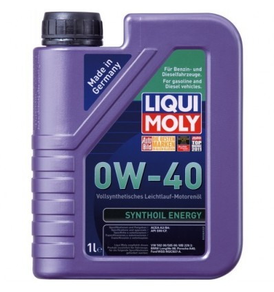 LIQUI MOLY Synthoil Energy SAE 0W-40 1L