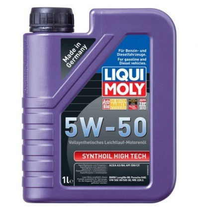 LIQUI MOLY Synthoil High Tech SAE 5W-50 1L