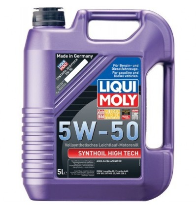 LIQUI MOLY Synthoil High Tech SAE 5W-50 5L