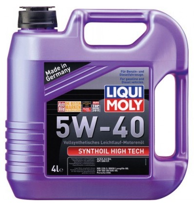 LIQUI MOLY Synthoil High Tech SAE 5W-40 4L