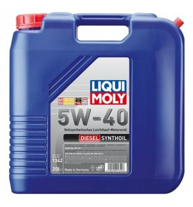 LIQUI MOLY Diesel Synthoil SAE 5W-40 20L