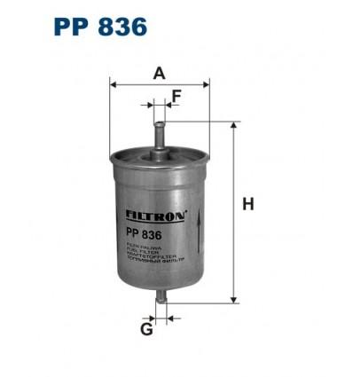 WIX WF8040 / FILTRON PP836