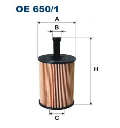 WIX WL7296 / FILTRON OE650/1