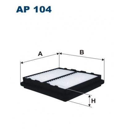 WIX WA6280 / FILTRON AP104