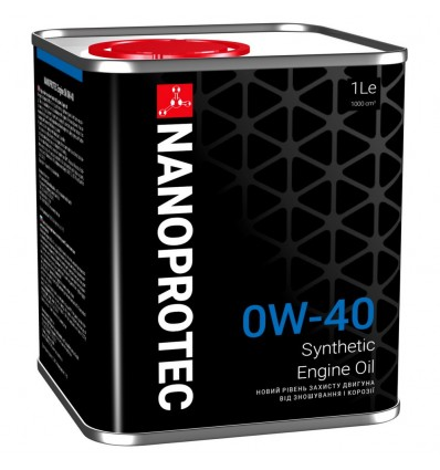 NANOPROTEC Engine Oil SAE 0W-40 1L