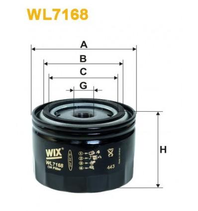 WIX WL7168 / FN OP520/1