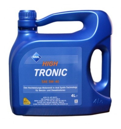 Aral HighTronic SAE 5W-40 4L