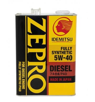 IDEMITSU ZEPRO FULLY SYNTHETIC CF 5W-40 4L
