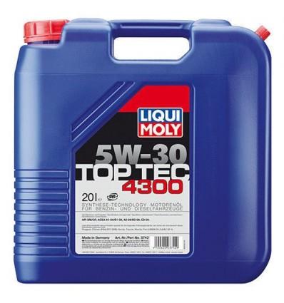 LIQUI MOLY Top Tec 4300 SAE 5W-30 20L