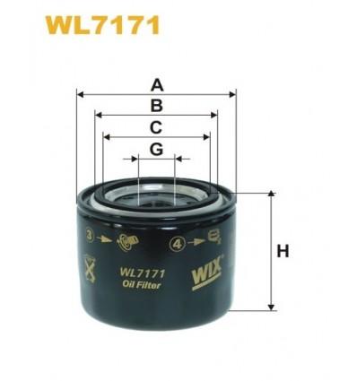 WIX WL7171 / FILTRON OP617