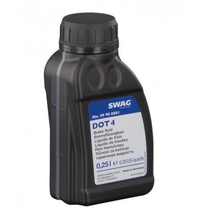 Тормозная жидкость SWAG DOT-4 0,25L